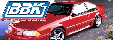 Fox Body Mustang BBK Performance Parts